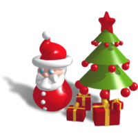 Christmas Troubles (เกมส์แนว Tower Defense ปกป้องของขวัญ)