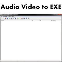 Audio and Video to EXE (โปรแกรมแปลงวีดีโอ เสียง เป็น exe) :