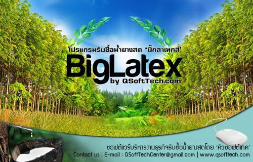 BigLatex (โปรแกรม BigLatex รับซื้อน้ำยางพาราสด ยางแผ่น เศษยาง ) :