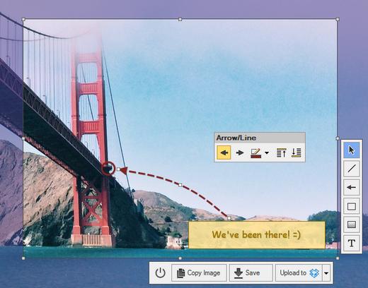 โปรแกรมจับภาพหน้าจอ CloudShot