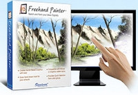 Freehand Painter (โปรแกรม Freehand Painter วาดรูปด้วยนิ้วมือแบบอิสระ) :