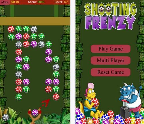 App เกมส์ยิงไข่ไดโนเสาร์ Dinosaur Egg Hunter