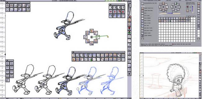 โปรแกรมวาดรูปการ์ตูน Plastic Animation Paper