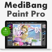 MediBang Paint Pro (โปรแกรมวาดการ์ตูนมังงะ วาดรูปการ์ตูน Manga)