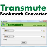 Transmute (แปลง Bookmarks Favorites ระหว่างเบราว์เซอร์)