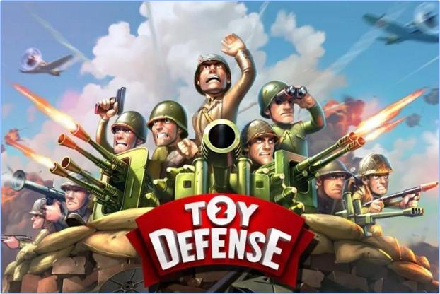 เกมส์ป้องกันฐาน Toy Defense 2