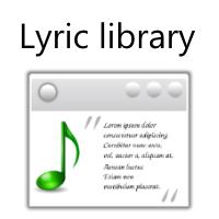 Lyric Library (โปรแกรม Lyric ค้นหาเนื้อเพลง)