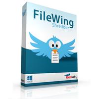 FileWing Shredder (โปรแกรม FileWing ลบไฟล์ถาวร กู้กลับไม่ได้อีกเลย)