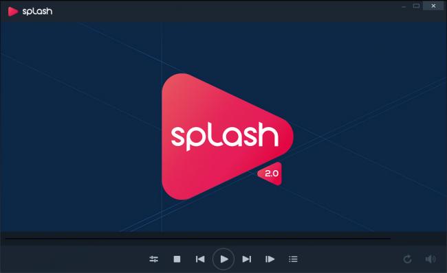 โปรแกรมดูหนัง ฟังเพลง Splash