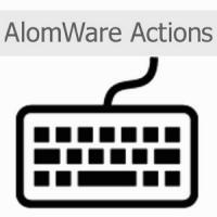 AlomWare Actions (ตั้งให้คอมพิวเตอร์ ทำงาน อัตโนมัติ และ ตั้ง Hotkey ได้)