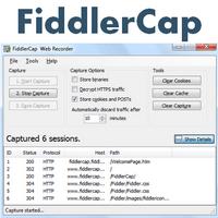 FiddlerCap Web Recorder (ตรวจจับ ดักจับข้อมูล Traffic ของเว็บเพจ)