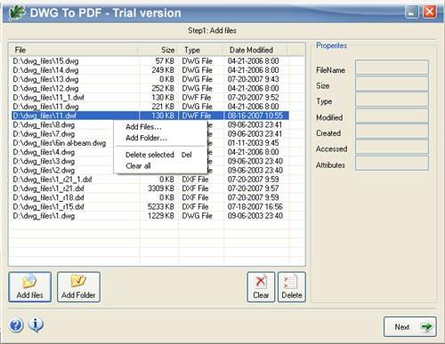 โปรแกรมแปลงไฟล์ DWG เป็น PDF