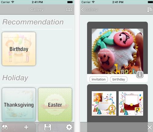 App ส่งการ์ดวันเกิด Birthday e-Cards