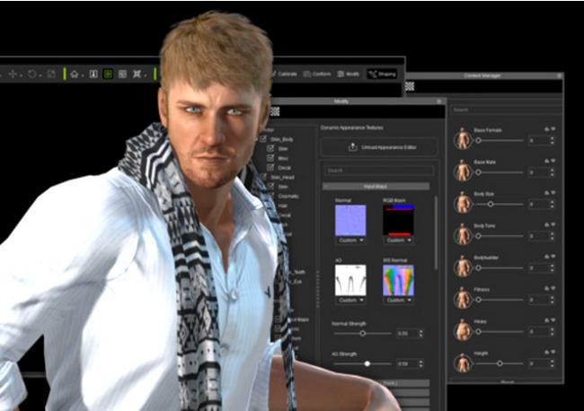 โปรแกรมสร้างตัวละคร 3มิติ Reallusion iClone