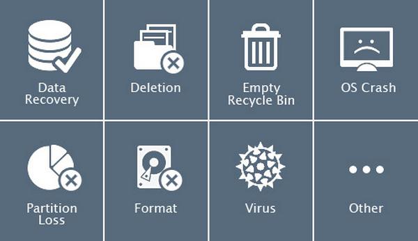 โปรแกรมกู้ข้อมูล EaseUS Data Recovery Wizard Free
