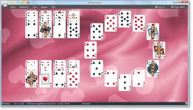 123 Free Solitaire (เกมส์ไพ่ Solitaire ฟรี) :