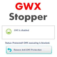 GWX Stopper (โปรแกรม GWX Stopper หยุดโฆษณา อัพเกรด Windows 10)