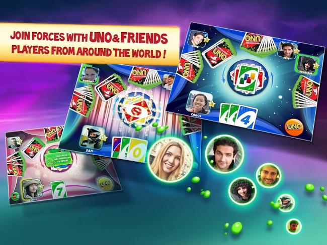เกมส์ UNO & Friends