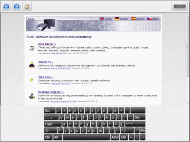 โปรแกรมเปลี่ยนคอมพิวเตอร์ เป็นเครื่องคีออส Simple Kiosk