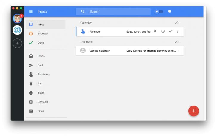 โปรแกรมเช็คอีเมล์ เปิดกูเกิล Wmail