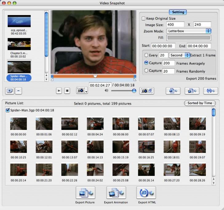 โปรแกรมจับภาพXilisoft Video Snapshot