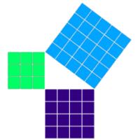 O-Pythagoras (โปรแกรม O-Pythagoras คำนวณสูตรสามเหลี่ยมมุมฉาก พีทาโกรัส)