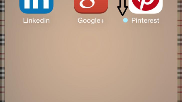 สงสัยไหม จุดสีฟ้าหน้าชื่อแอพฯบน iOS คืออะไร