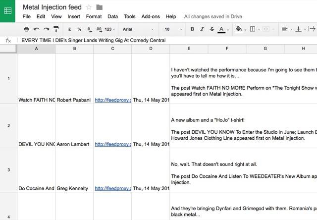 google-sheets-rss-feed