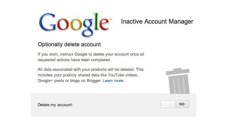 เขียนพินัยกรรมแอคเคาท์ Google ด้วย Inactive Account Manager