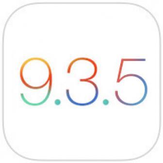 วิธีอัพเดท iOS 9.3.5 พร้อม Direct Link ตรงโหลด Firmware พร้อมรายละเอียดของเวอร์ชั่นใหม่