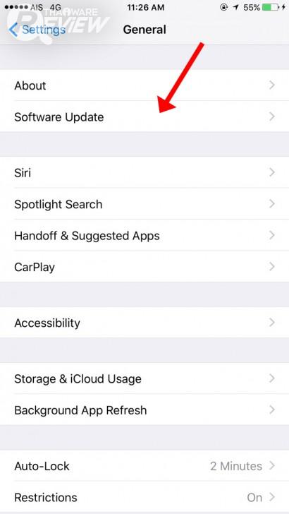 วิธีอัพเดท iOS 10 พร้อมลิงค์ดาวน์โหลด Firmware โดยตรง