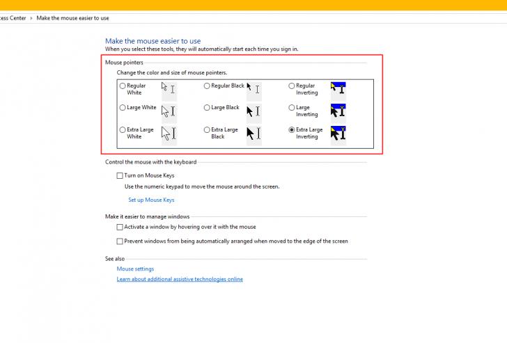 วิธีเปลี่ยนขนาดและรูปแบบของ Cursor Mouse บน Windows