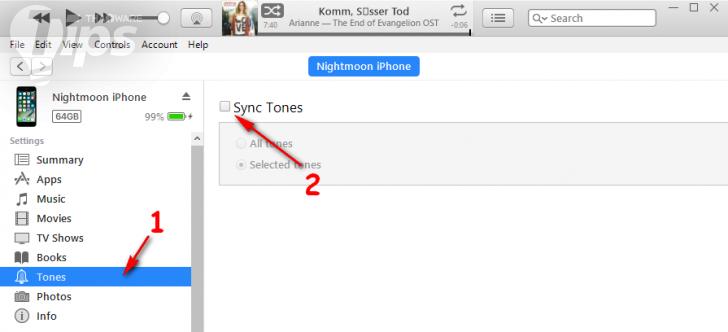 วิธีทำเสียง Ringtone ลงใน iPhone ด้วยโปรแกรม iTunes แบบง่ายๆ